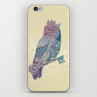 Owl King Color iPhone & iPod Skin