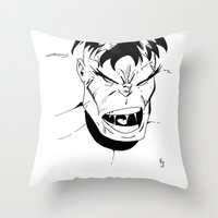 Hulk - You Wouldn't Like Me When I'm Angry - 2012 Throw Pillow