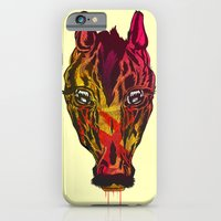 iPhone & iPod Case featuring The Horse by Vasco Vicente