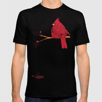 Cardinal Sin Mens Fitted Tee Black SMALL