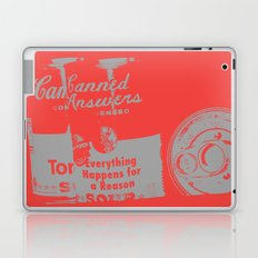 Canned Answers Laptop & iPad Skin