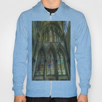 Rochester Cathedral Stained Glass Windows Art Hoody