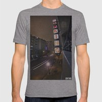 Up A Level Mens Fitted Tee Athletic Grey SMALL