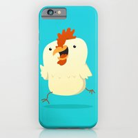 iPhone Cases featuring Little Chicken by Pedro Vilas Boas