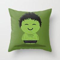 ChibizPop: It Ain't Easy… Throw Pillow