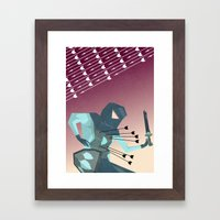 Winter's End  Framed Art Print