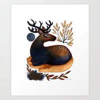 The Elk  Art Print
