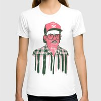 Sausage Man Womens Fitted Tee White SMALL