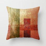 Converge, Abstract Art, … Throw Pillow