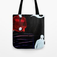 Communication misleading Tote Bag