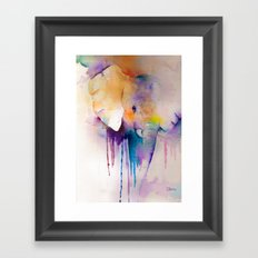 Baby Elephant Framed Art Print