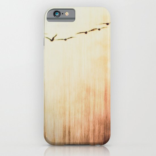 Flying home iPhone & iPod Case