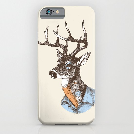 Lucienne the crying deer (with tattoos) iPhone & iPod Case
