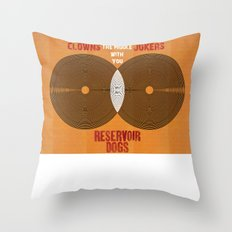 Reservoir Dogs - Venn Diagram : Stuck in the Middle with you Throw Pillow