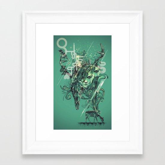 nascent Framed Art Print