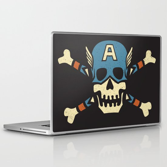Captain 'Jolly' Rogers  Laptop & iPad Skin