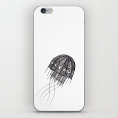 pattern jellyfish iPhone & iPod Skin