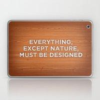 Everything, Except Natur… Laptop & iPad Skin