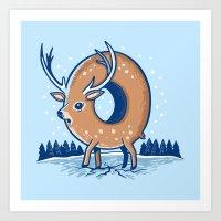 O Deer Art Print
