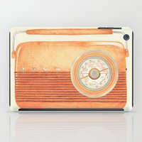 Radio Silence iPad Case