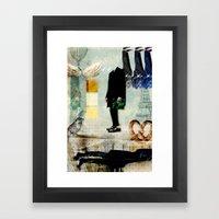Mr.Suit Framed Art Print