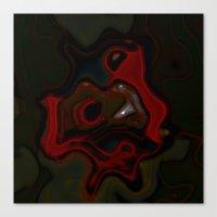 Smoke Dance Canvas Print