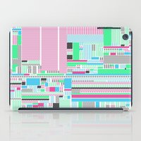 Pink, Blue & Green iPad Case