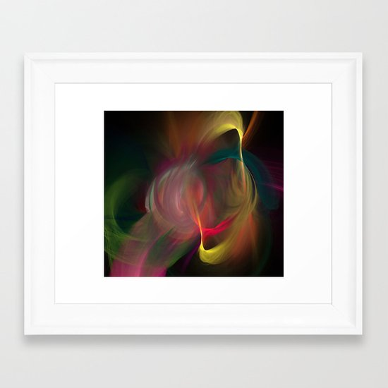 Dance of Divinity Framed Art Print