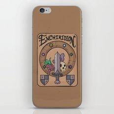 Enchiridion iPhone & iPod Skin