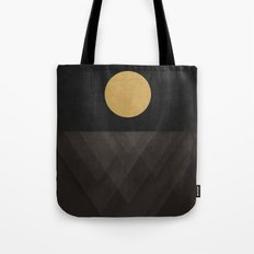Moon Reflection on Quiet Ocean Tote Bag