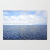 Baja Blue Canvas Print