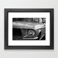 Mu tang Framed Art Print