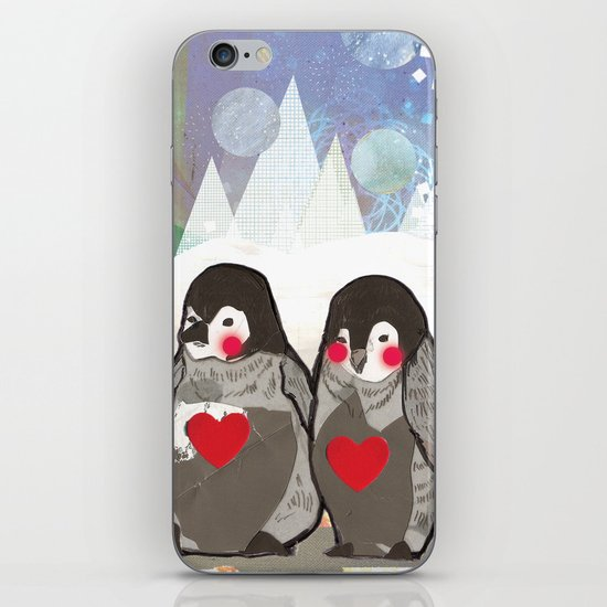 Baby Penguins iPhone & iPod Skin