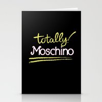 Totally Moschino Black Stationery Cards