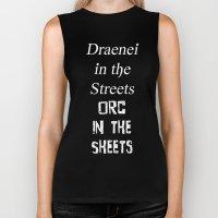 Draenei vs Orcs Biker Tank