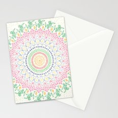 Plant Line Art 5 Stationery Cards