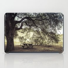 Picnic in the Grasslands iPad Case