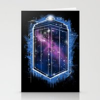 Time, Space, and Graffiti  Stationery Cards