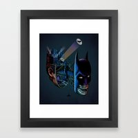 destructured hero#1 Framed Art Print