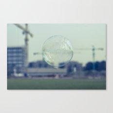 city bubble Canvas Print