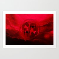 Star Wars Imperial Red T… Art Print