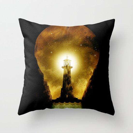 reach for the light Throw Pillow