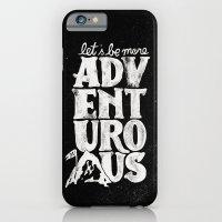 iPhone & iPod Case featuring MORE ADVENTUROUS II by WEAREYAWN