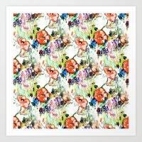 Coral Garden Mo Nay Art Print