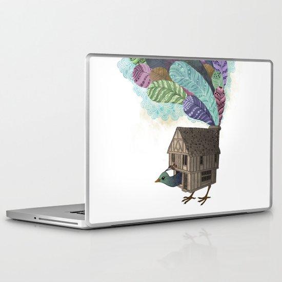 birdhouse revisited Laptop & iPad Skin