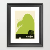 Amy Pond, Rory And Pando… Framed Art Print