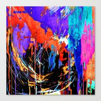 Energy Canvas Print