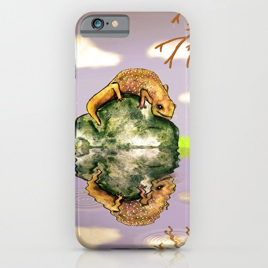 Reflect upon yourself on a rainy day  iPhone & iPod Case