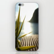 Sunset At Plage Mala iPhone & iPod Skin
