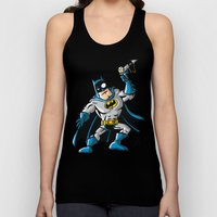 Another Strong man in a super hero costume Unisex Tank Top